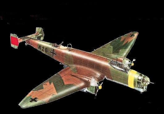 Italeri Aircraft 1/72 Ju86D German Bomber Kit