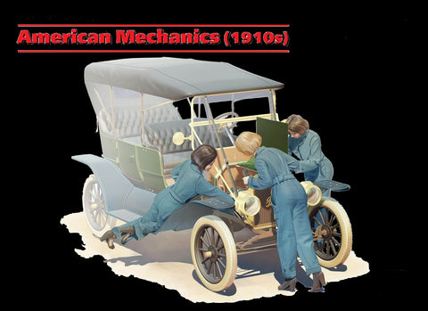 ICM Military 1/24 American Female Mechanics 1910s (3) (New Tool) Kit