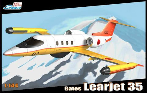 Stransky 1/144 Gates Learjet 35 Aircraft (JMSDF, Finnish AF, Royal Australian AF) Kit