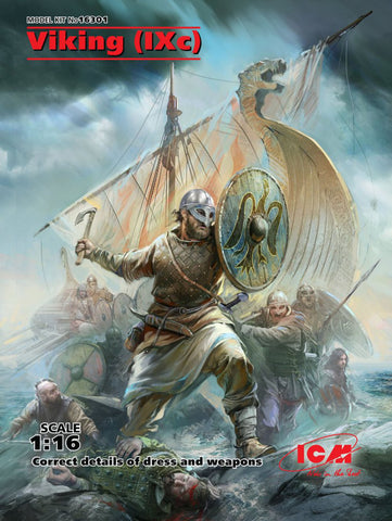 ICM Military 1/16 Viking IX Century (New Tool) Kit