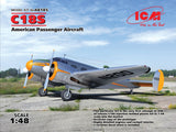 ICM Aircraft 1/48 WWII US C18S Passenger Aircraft Kit