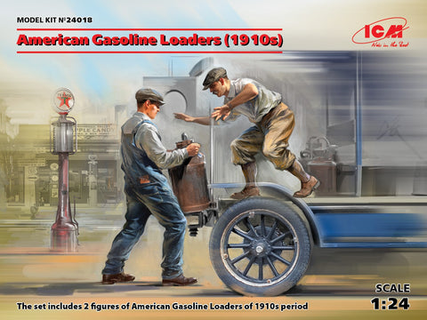 ICM Military 1/24 American Gasoline Loaders 1910's (2) (New Tool) Kit
