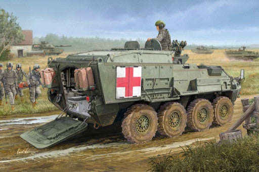 Trumpeter Military Models 1/35 M1133 Stryker Medical Evacuation Vehicle (MEV) Kit