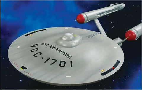 AMT Sci-Fi Models 1/350 Star Trek TOS USS Enterprise Smooth Saucer Kit