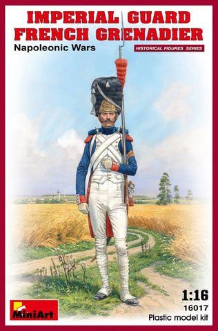 MiniArt Military 1/16 Imperial Guard French Grenadier Napoleonic Wars Kit