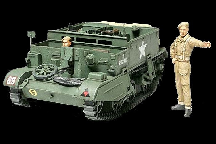 Tamiya Military 1/48 British Universal Carrier Mk II Kit