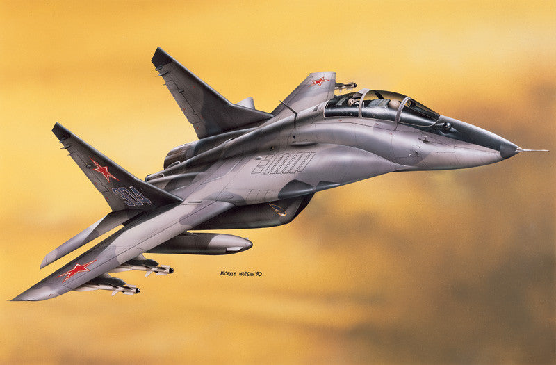 Italeri Aircraft 1/72 MiG29 Fulcrum Aircraft Kit