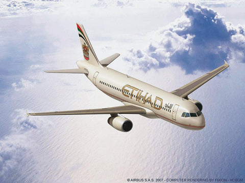 Revell Germany Aircraft 1/144 Airbus A320 Etihad Aircraft Kit