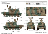 Trumpeter Military Models 1/35 JGSDF Type 87 AW Self Propelled Anti-Aircraft Gun Kit