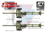 AFV Club Military 1/35 British QF Mk 4 6-Pdr Anti-Tank Gun & Mk III Carriage Kit