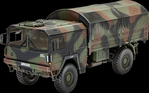 Revell Germany Military 1/35 LKW 5t mil gl 4x4 Truck Kit