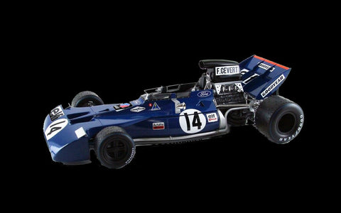 Ebbro Model Cars 1/20 1971 Tyrrell 002 British Grand Prix Race Car Kit