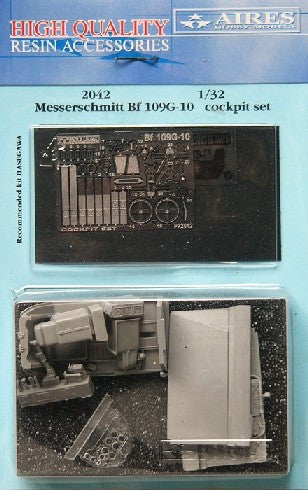 Aires Hobby Details 1/32 Bf109G10 Cockpit Set For HSG