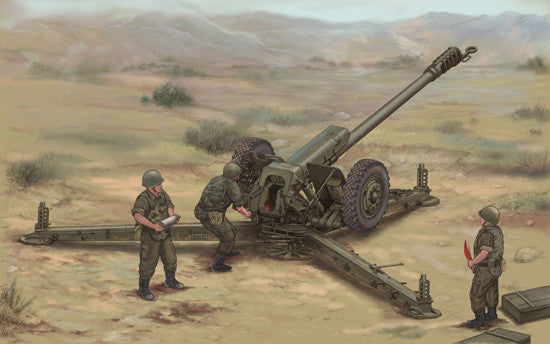 Trumpeter Military Models 1/35 Soviet D30 122mm Howitzer Late Version Kit
