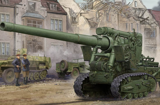 Trumpeter Military Models 1/35 Soviet Br2 152mm M1935 Gun Kit