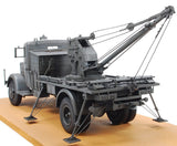 AFV Club Military 1/35 German Kfz100 L4500A Truck w/Bilstein 3T Crane Kit