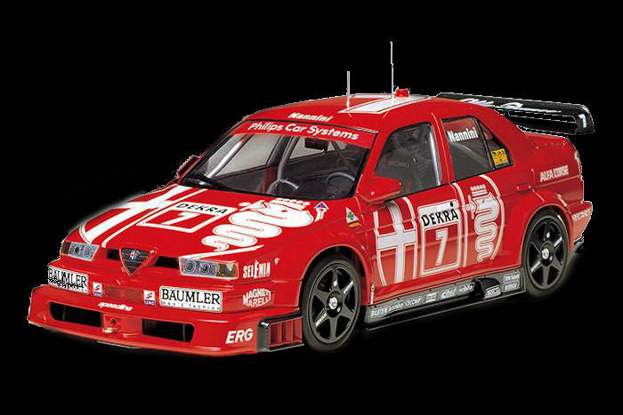Tamiya Model Cars 1/24 Alfa Romeo 155 V6 TI Race Car Kit