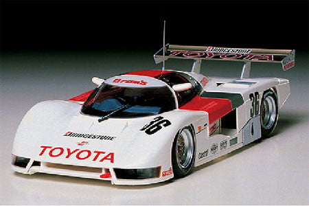 Tamiya Model Cars 1/24 Toyota Tom's 84C #36 Race Car Kit