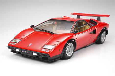 Tamiya Model Cars 1/24 Lamborghini Countach LP500S Car Kit