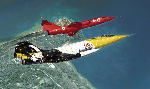 Italeri Aircraft 1/48 F-104G Starfighter Special Colors Kit