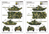 Trumpeter Military Models 1/35 Russian T90 Main Battle Tank w/Cast Turret Kit