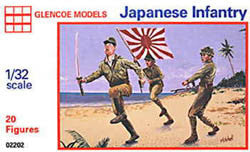 Glencoe Military 1/32 Japanese Infantry (20) Kit