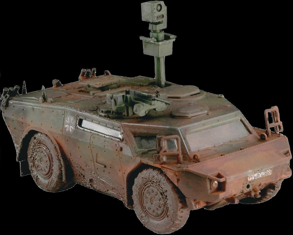 Revell Germany Military 1/72 Fennek Military Recon Vehicle Kit
