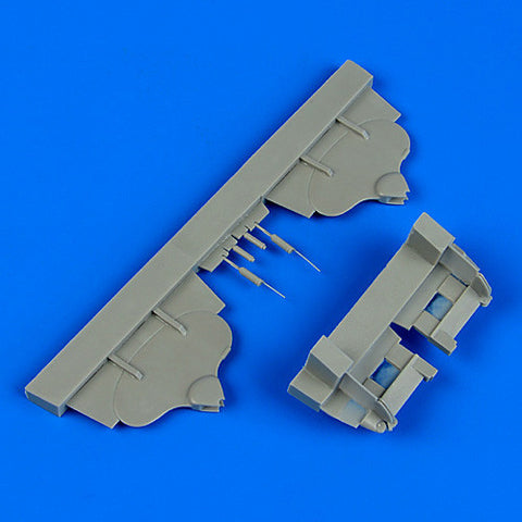 Quickboost Details 1/32 Ar196 Float Rudders for RVL