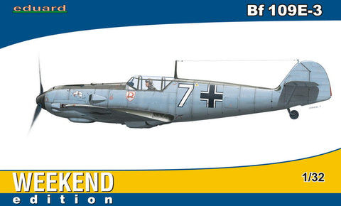 Eduard Aircraft 1/32 Bf109E3 1/JG2 Fighter Germany 1940 Wkd. Edition Kit