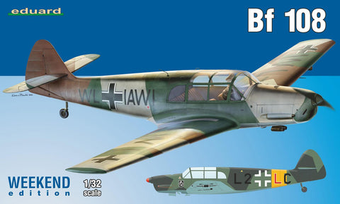 Eduard Aircraft 1/32 Bf108 Fighter Wkd Edition Kit