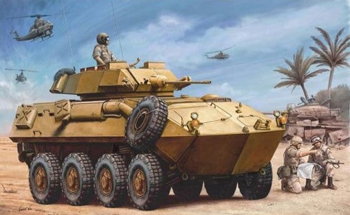 Trumpeter Military Models 1/35 USMC LAV-25 Piranha Light Armored Vehicle Kit
