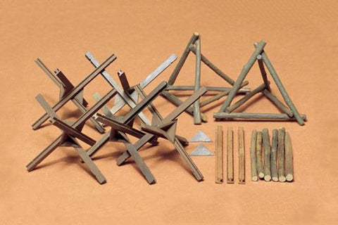 Tamiya Military 1/35 Barricade Set Kit
