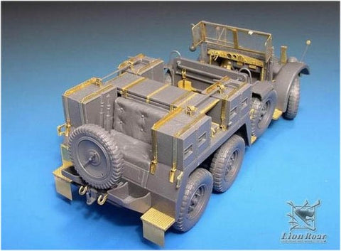 Lion Roar Details 1/35 Kfz69 Towing Truck w/37mm PaK 36 Detail Set for TAM