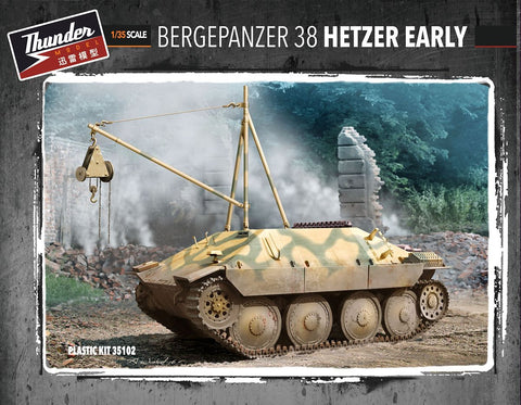 Thunder Models 1/35 Bergepanzer 38 Hetzer Early Recovery Vehicle Kit