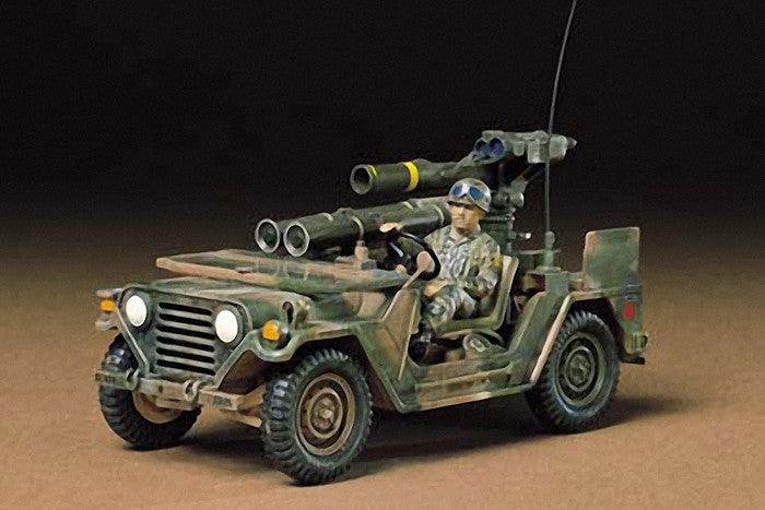 Tamiya Military 1/35 US M151A2 w/Tow Missile Launcher Kit
