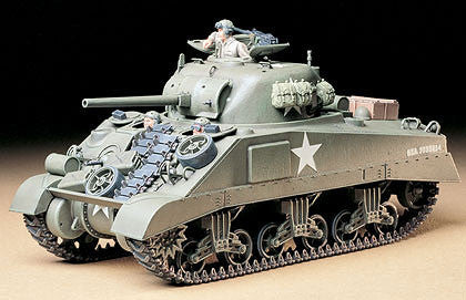 Tamiya Military 1/35 US M4 Sherman Tank Kit