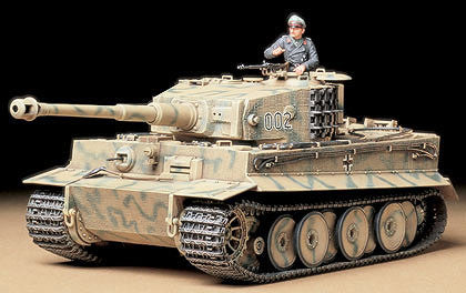 Tamiya Military 1/35 Tiger I Mid Prod Tank Kit
