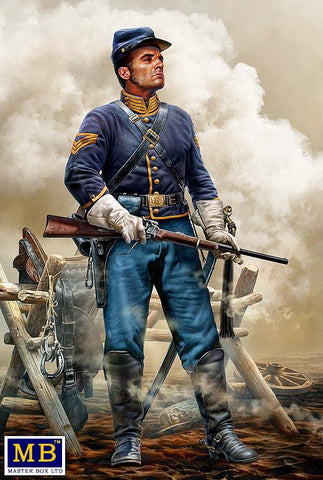 Master Box 1/35 At the Ready American Civil War Brigadier General Kit