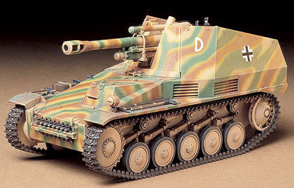 Tamiya Military 1/35 German Self-Propelled Howitzer Kit
