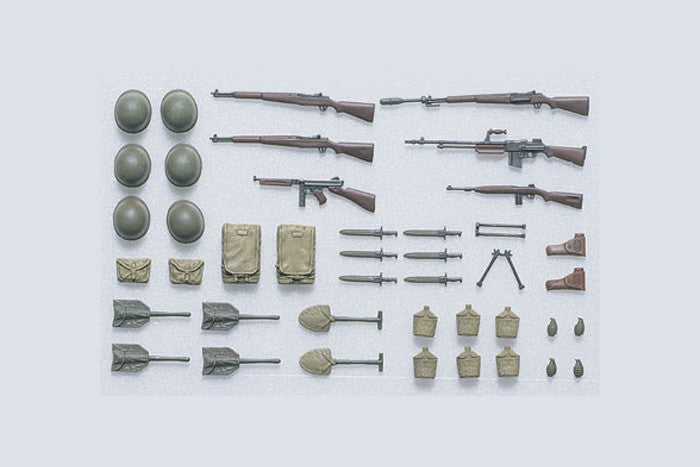 Tamiya Military 1/35 US Infantry Equipment Set Kit