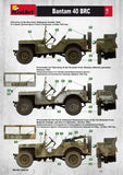 MiniArt Military 1/35 WWII Bantam 40BRC Military Car w/Gun & 5 Crew Kit