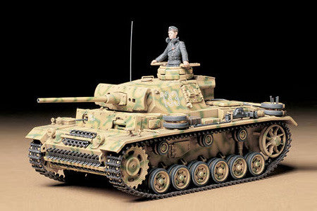 Tamiya Military 1/35 German PzKpfw III Ausf L Kit