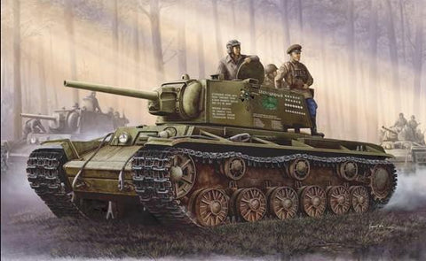 Trumpeter Military 1/35 Russia KV-1 model 1942 Simplified Turret Tank Kit