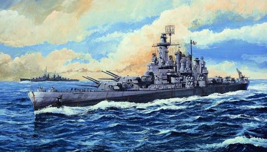 Trumpeter Ship Models 1/700 USS Washington BB56 Battleship Kit