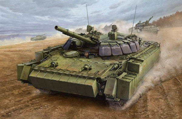 Trumpeter Military Models 1/35 Russian BMP3 Infantry Combat Vehicle w/ERA Tiles Kit