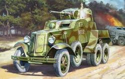 Zvezda Military 1/35 Soviet BA10 Armored Car Kit