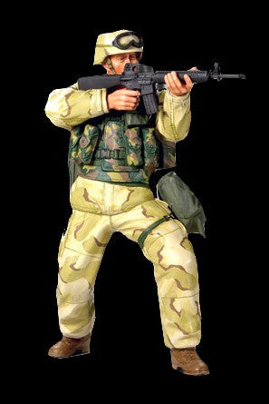 Tamiya Military 1/16 US Modern Infantryman Desert Uniform Kit
