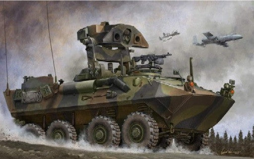 Trumpeter Military Models 1/35 USMC LAV-AT Light Armored Anti-Tank Vehicle Kit