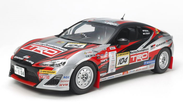 Tamiya Model Cars 1/24 2013 TRD86 Gazoo Rally Race Car Kit