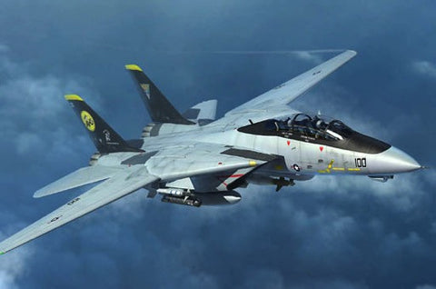 Trumpeter Aircraft 1/144 F14D Tomcat Fighter Kit